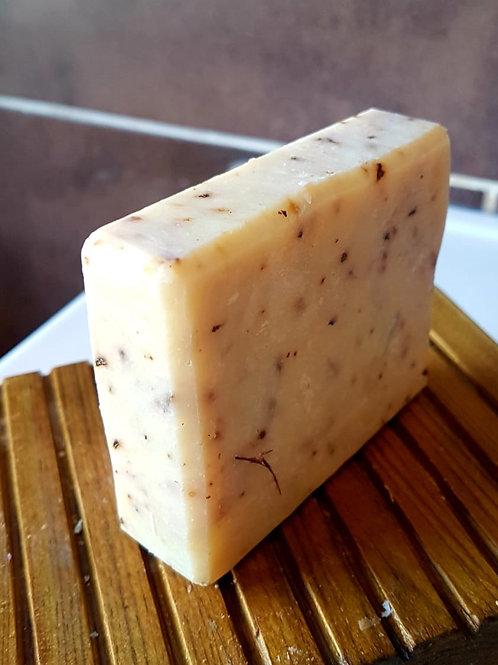 HANDMADE NATURAL SOAP BAR LEMONGRASS120g