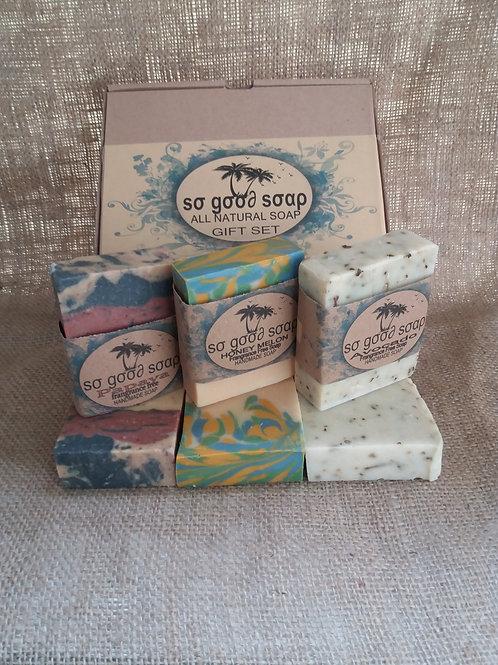 FRAGRANCE FREE 100% Natural Handmade Vegan Soaps 3 x120g