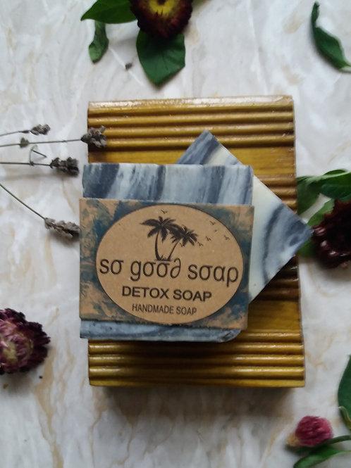 Handmade Natural Soap Bar Detox 120g
