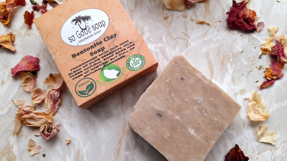 Bentonite Clay Soap Bar 140g