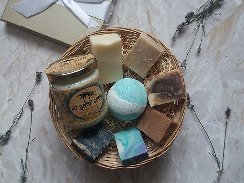 All Natural Gift Box Best Friend Birthday Set