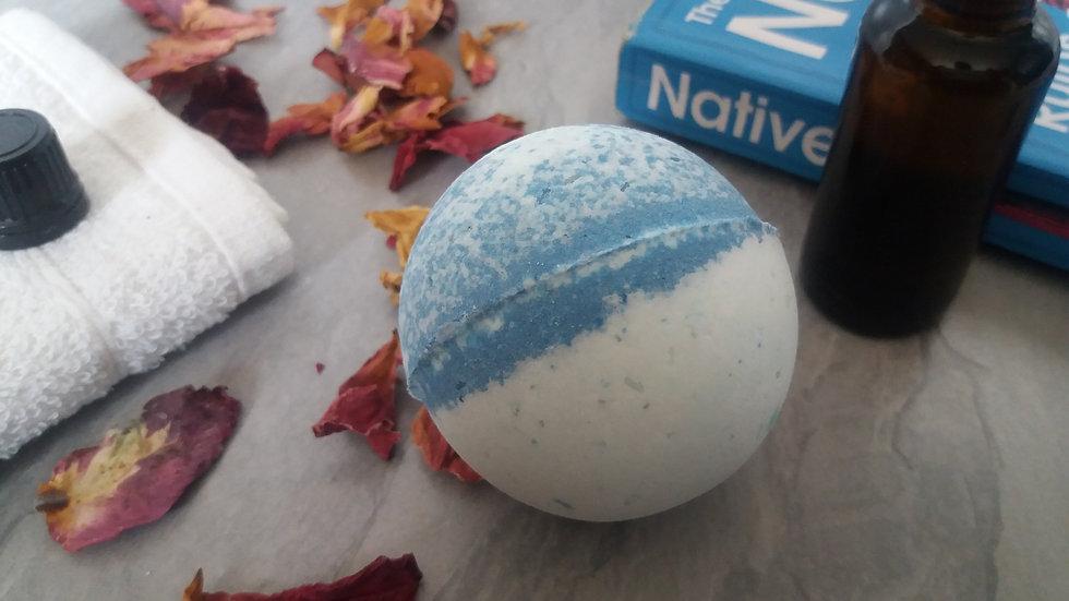 100% Natural Bath Bomb Lavender