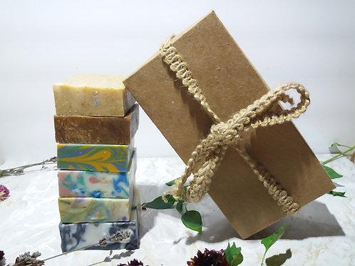 Relaxing Florals Vegan Soap Gift Set – 6