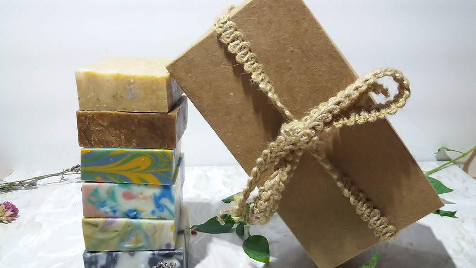 Dry Skin Relief Vegan Soap Gift Set – 6