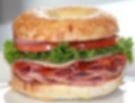 Italian Trio Lunch Sandwich on Assiago Bagel