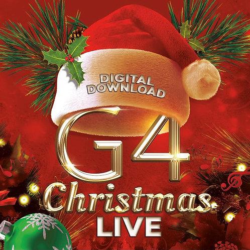 G4 Christmas LIVE - Digital Download Album