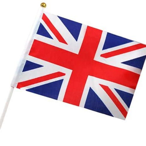 Hand Waving Flag (Union Jack)