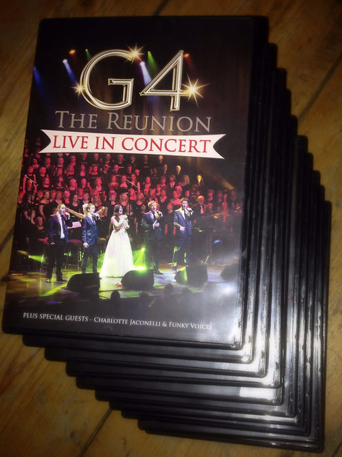 G4 Reunion 'Live in Concert' DVD (Unsigned)
