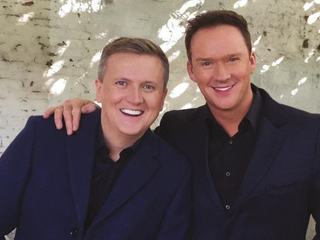 ALED JONES AND RUSSELL WATSON TO DUET AT WIGHT PROMS
