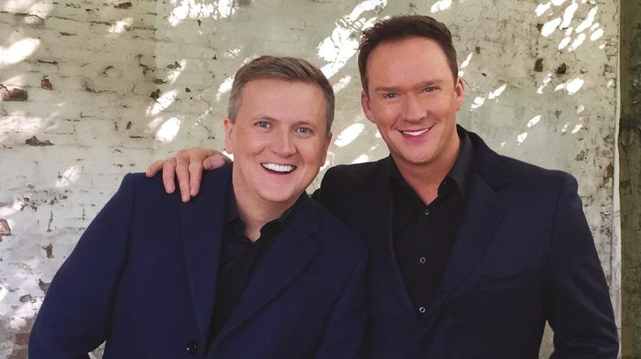 Aled Jones and Russell Watson to duet at Wight Proms in Cowes next week!