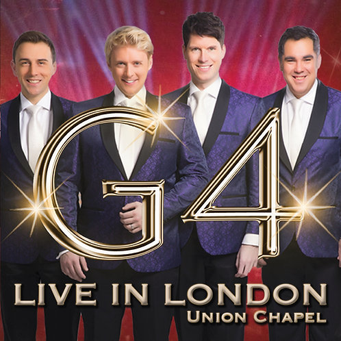 G4 Album - 'Live in London' Tour 2017(Unsigned)