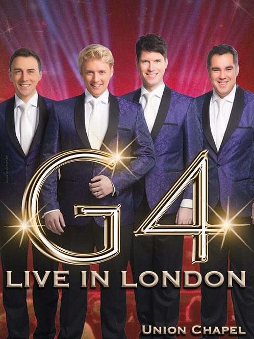 G4 DVD - 'Live in London' Tour 2017 (Unsigned)