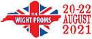 White Proms LOGO Website header with dat