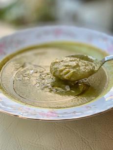 מרק ברוקולי קרמי ללא נקיפות מצפון