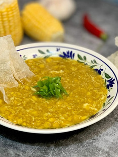 מרק תירס סיני של האייטיז