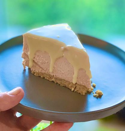 עוגת גבינה ושוקולד רובי ורודה מתכון קלה להכנה