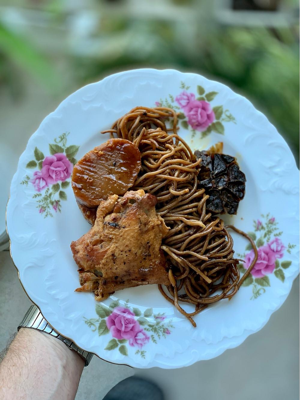 מתכון חמין מקרוני מושלם, מהיר להכנה וטעים עם עוף ותפוחי אדמה