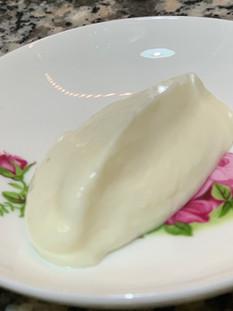 ממרח ת'ום לבנוני או איולי שום טבעוני