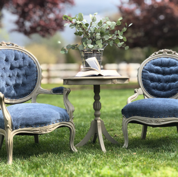 His & Hers Parlor Chairs