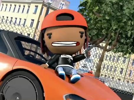 "Yung Stakks - ""Swing My Door"" (feat. G Herbo)   Animated Music Video"