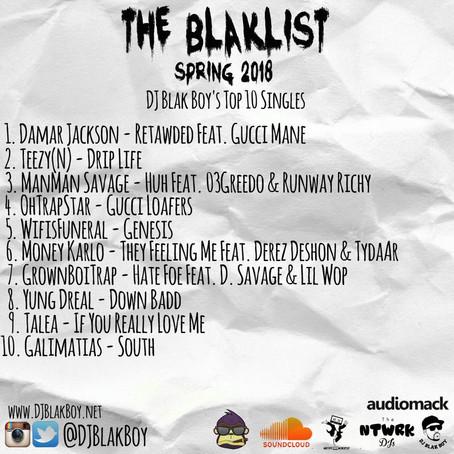 The Blaklist Spring 2018 - DJ Blak Boy