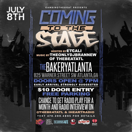 Coming To The Stage 7/8