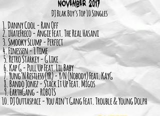 The Blaklist Nov. 2017 - DJ Blakboy