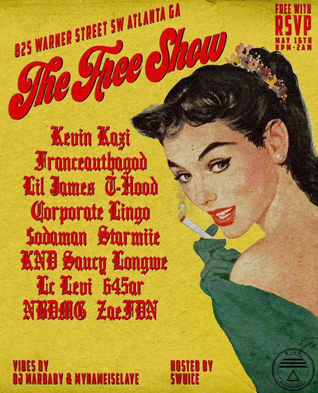 The Free Show 5/16