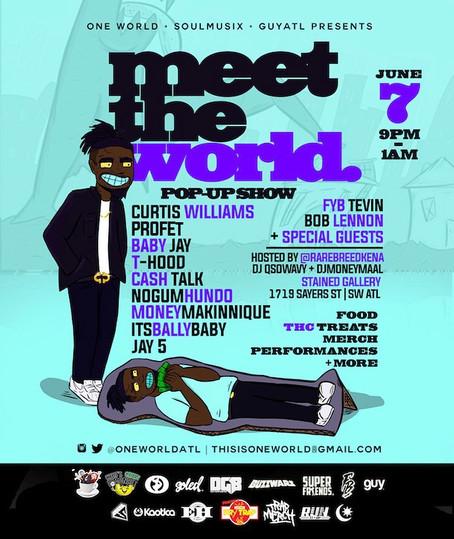 Meet The World Pop-Up Show 6/7