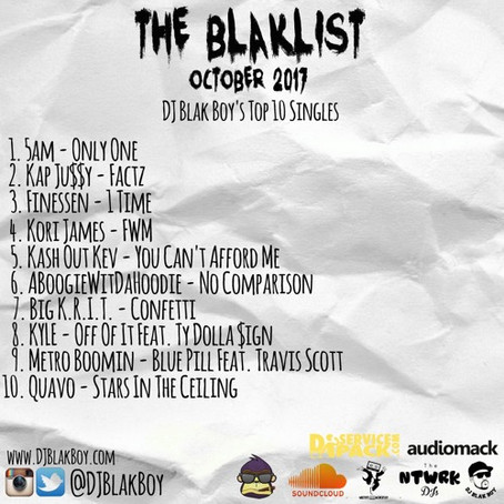 The Blaklist Oct. 2017 - DJ Blakboy