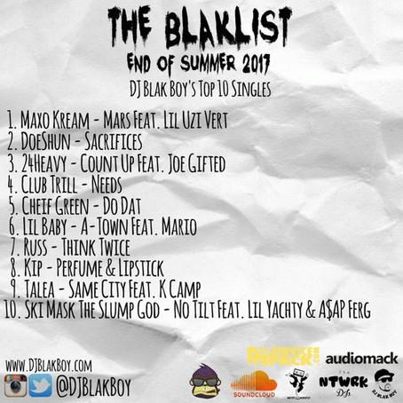 The Blaklist (DJ Blakboy End Of Summer 2017)