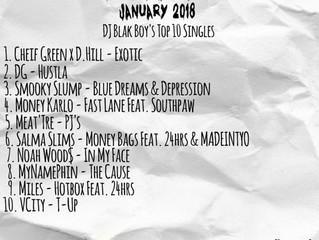The Blaklist Jan. 2018 - DJ Blakboy