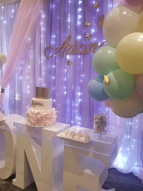 A whimsical butterfly inspired celebration. Butterfly - Ariana's 1st Birthday