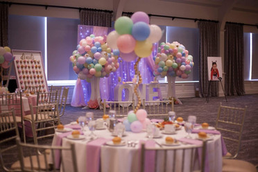 A whimsical butterfly inspired celebration. Tablescape - Ariana's 1st Birthday