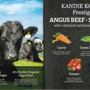 Kanine Komplete Prestige 65 Angus Beef Small Breed