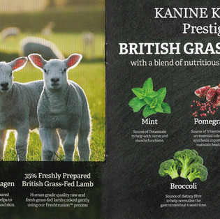 Kanine Komplete Prestige 65 British Grass Fed Lamb Adult