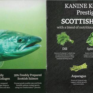 Kanine Komplete Prestige 65 Scottish Salmon Adult