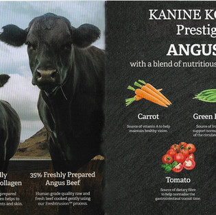 Kanine Komplete Prestige 65 Angus Beef