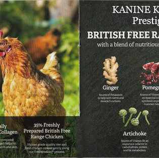 Kanine Komplete Prestige 65 British Free Range Chicken Adult