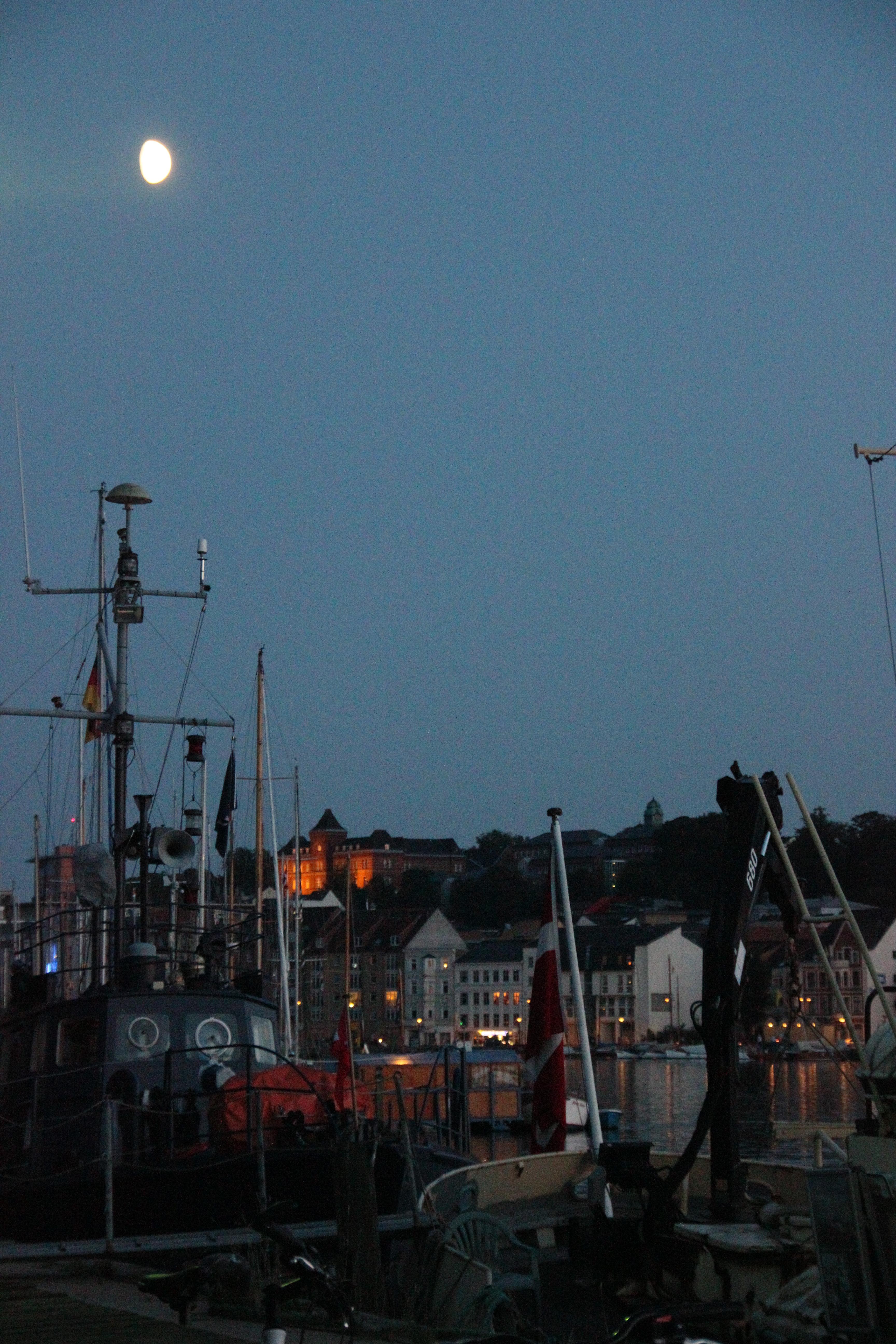 Flensburg am Abend