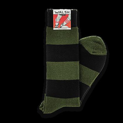 League Socks - Black Olive