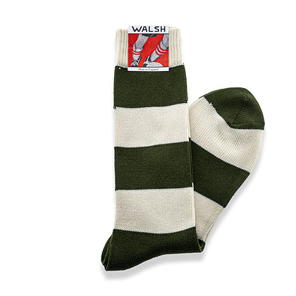 League Socks - Olive