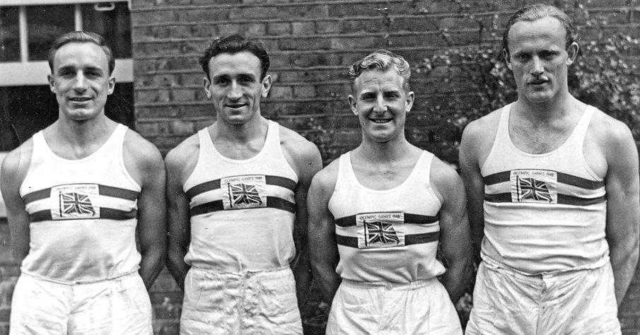 Norman Walsh Footwear British Olympics Team