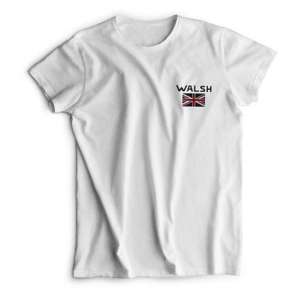 Walsh Logo Printed T-Shirt - White