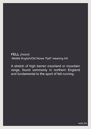 """De-fell-nition"" Print"
