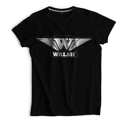 Walsh Printed T-Shirt - Black