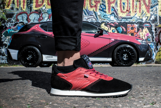LEXUS DESIGN INSPIRES EXCLUSIVE NEW SPORTS TRAINERS FROM NORMAN WALSH