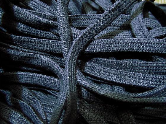 navy blue shoe laces