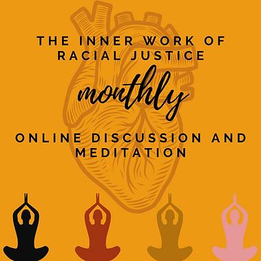 Monthly racial awareness meditation adve