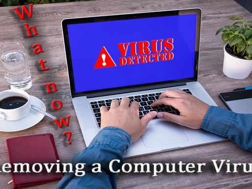 Removing a Computer Virus - Video Blog